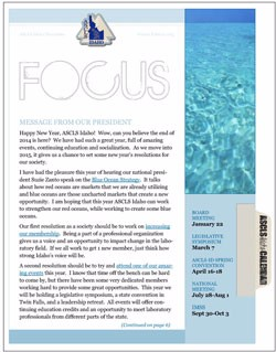 ASCLS-Idaho FOCUS Newsletter Winter 2015