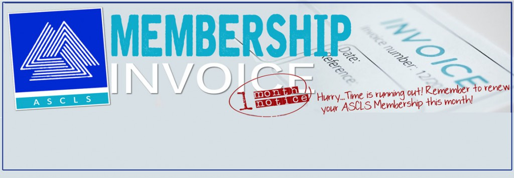 ASCLS Membership Renewal